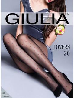 Giulia Lovers 20 #4 heart patternd tights