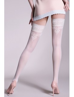 Giulia Glory 20 #2 patterned hold-ups