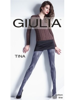 GIULIA TINA #1 Cotton patterned tights