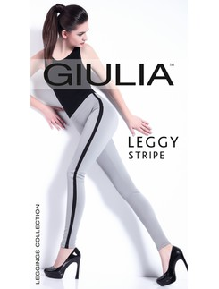 Giulia Leggy Stripe Model1 Leggings