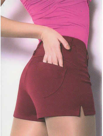 Giulia Mini Shorts Model 5 bordeaux