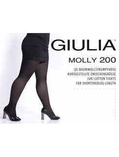 Giulia Molly 200 Knit Cotton Tights