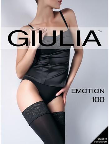 Giulia Emotion 100 Opaque Hold-Ups nero