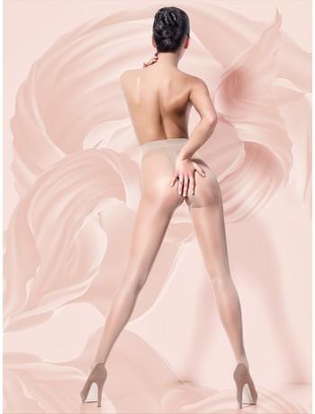 Giulia Intimo 20 Crotchless Tights