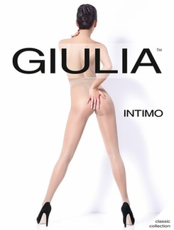 Giulia Intimo 20 Crotchless Tights