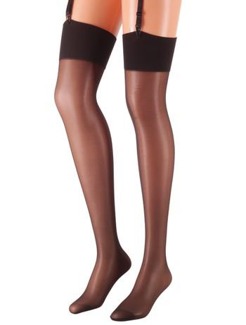 Giulia Segreto 20 Suspender Stockings nero