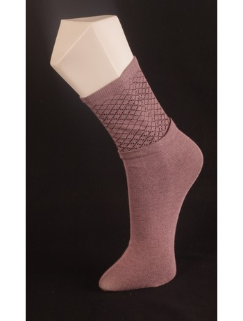 Giulia Lilac-Colored Cotton Socks lilac