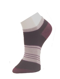 Giulia Striped Sneaker Socks