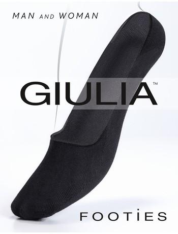 Giulia Footies 120 Unisex Shoe Liners nero