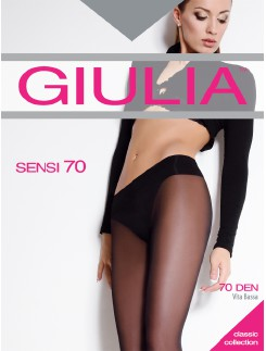 Giulia  Sensi 70 semi-sheer Low Waist Tights