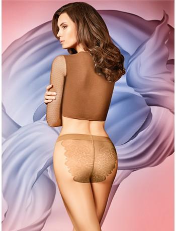 Giulia Bikini 20 sheer Tights honey