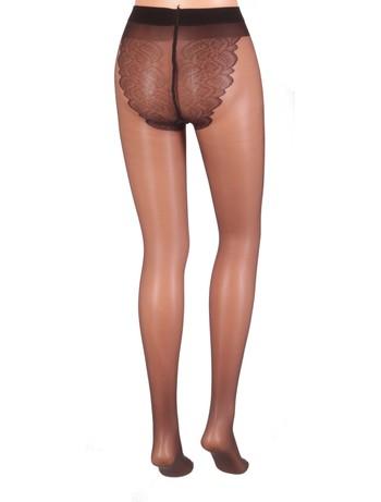Giulia Bikini 20 sheer Tights nero