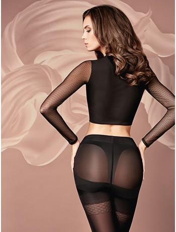 Giulia Effect Up 40 Shapewear Tights 40DEN nero