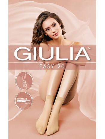 Giulia Easy 20 Double Pack of Sheer Nylon Socks
