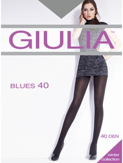 GIULIA BLUES 40 opaque tights