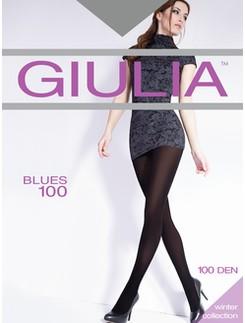 GIULIA Blues 100 microfibre tights