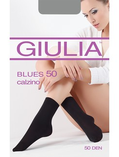 GIULIA Blues 50 microfibre socks
