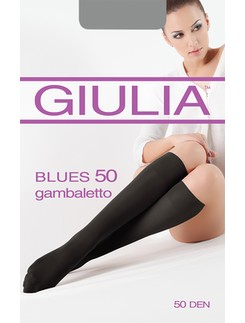 GIULIA Blues 50 Knee High Socks