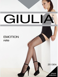 Giulia Emotion Rete Lace Top Fishnet Stockings