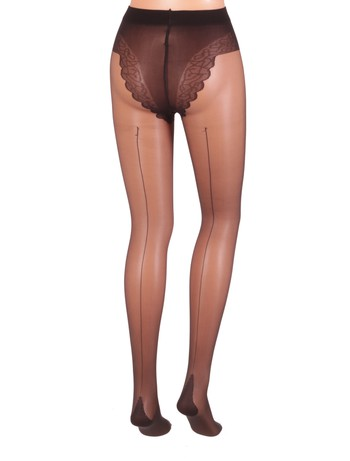 Giulia Chic 20 Bikini Tights nero