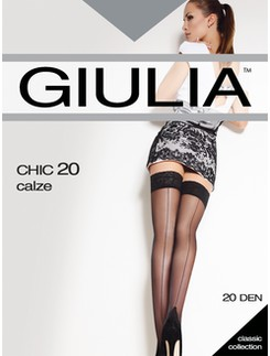 CHIC 20 Back Seamed Stockings