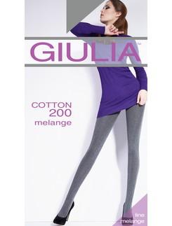 GIULIA Cotton 200 melange tights