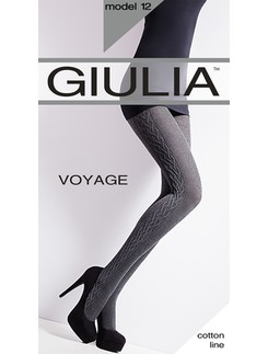 GIULIA Voyage 180 #12 cotton tights