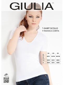 Giulia Microfiber V-Neck T-Shirt