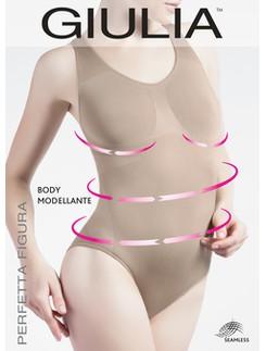 Giulia Modellante sleeveless  Microfiber Shaper Bodysuit