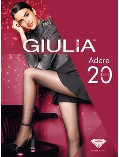Giulia Adore 20 M2 - Lurex Muster - Silver Shine