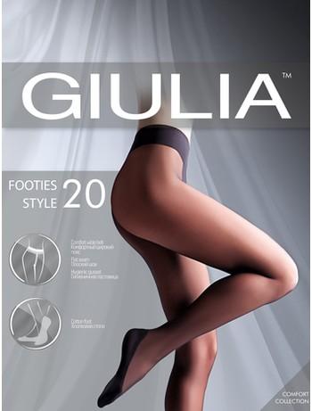 Giulia Footies Style 20 tights