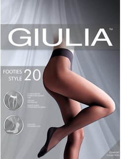 Giulia Footies Style 20 tights