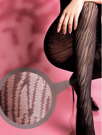 Giulia Leo net 40 #2 tights nero
