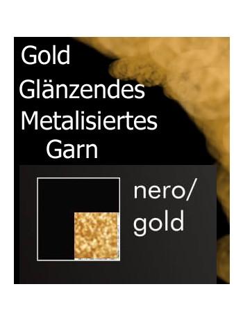 Giulia Pari Lurex M2 tights - Gold Shine