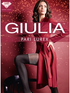 Giulia Pari Lurex M2 tights - Gold Shine