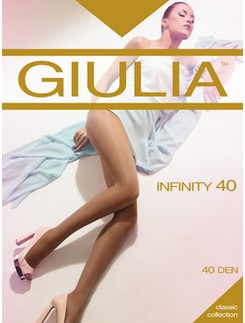 Giulia Infinity 40 silky tights without shorts