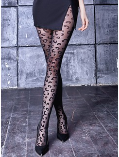 Giulia Leo 20 patterned tights #1