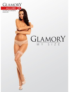 Glamory My Size Allure Shiny Hold-ups