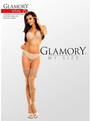 Glamory My Size Vital 70 Compression Hold-Ups