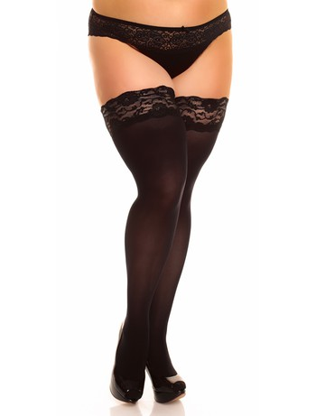 Glamory Micro 60 opaque Hold-ups black