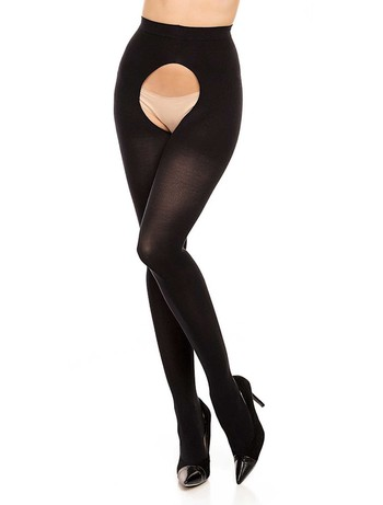 Glamory Ouvert 60 tights black
