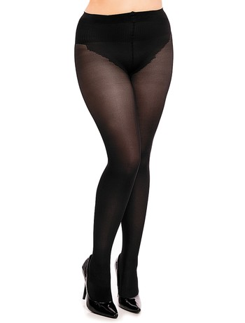 Glamory My Size Silk Skin 50 Shapewear Tights black