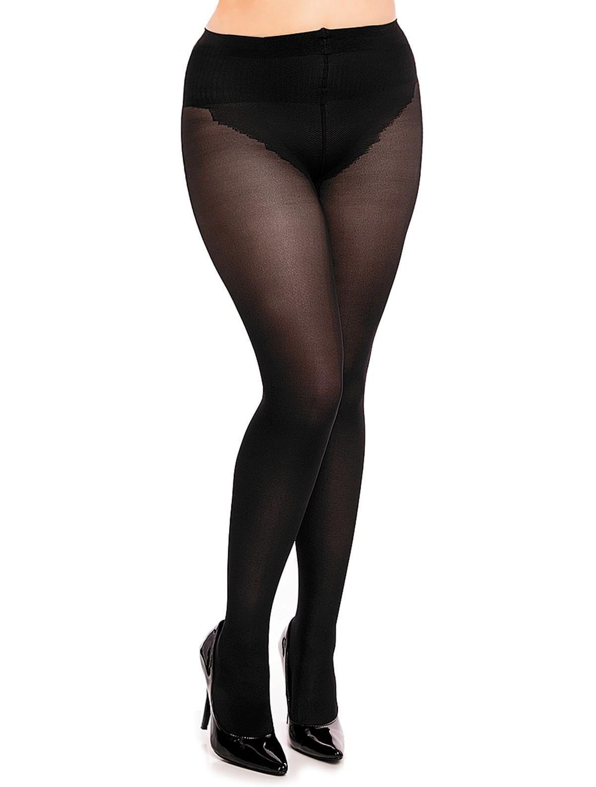a0232b351c572 Glamory size silk skin shapewear tights black jpg 1200x1584 Shapewear and  stockings