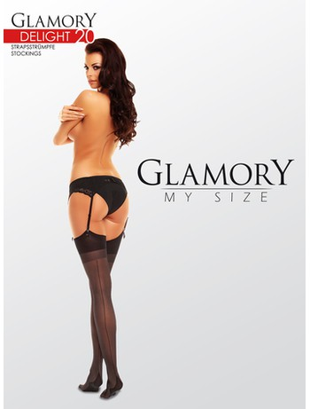 Glamory Delight 20 sheer seamed Stockings 20DEN