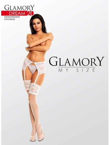 Glamory Dream 20 Broad Lace Top Stockings