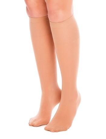 Glamory Fit 50 Microfiber Knee High Socks make-up