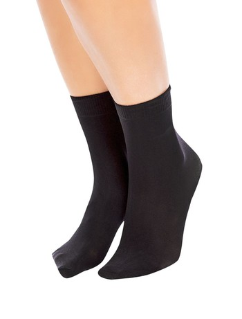 Glamory soft micro 40 socks black