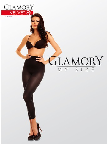 Glamory Velvet 80 Plus Size Leggings
