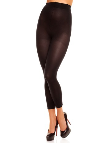 Glamory Velvet 80 Plus Size Leggings black