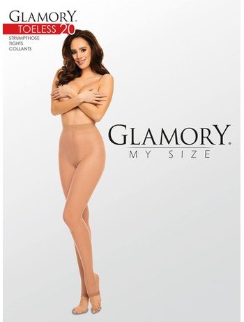 Glamory Toeless 20 Tights
